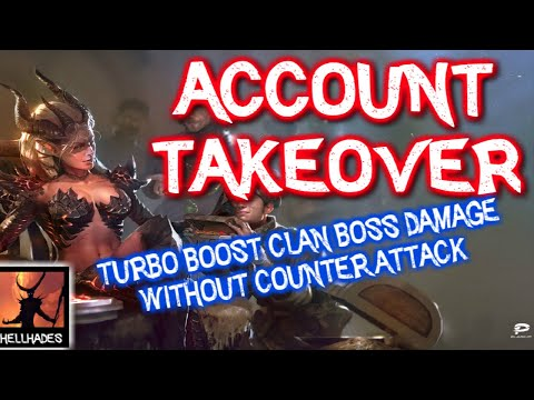 RAID: Shadow Legends | LDB ACCOUNT TAKEOVER | No Counter Attack CB team - Boosting damage by 80%!