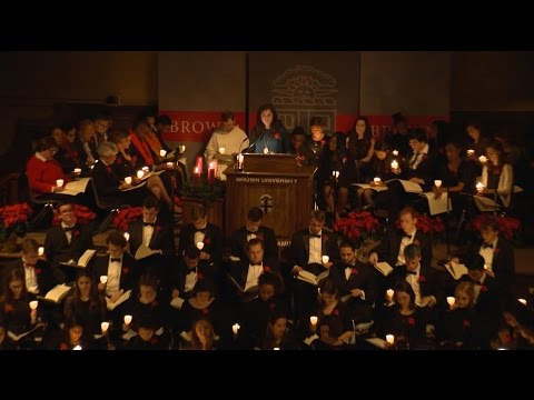 Brown's 100th Service of Lessons and Carols