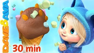 🍰 Baby Songs & Nursery Rhymes | Dave and Ava  🍰