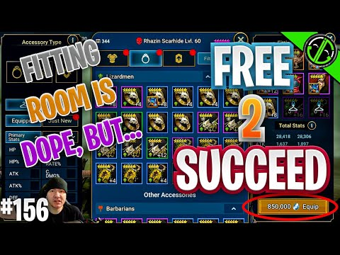 An Unintended Consequence of the Fitting Room in Raid??? | Free 2 Succeed - EPISODE 156