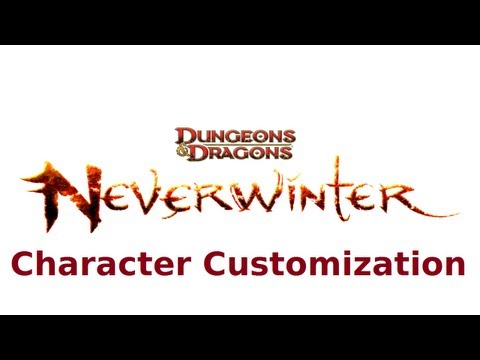 Neverwinter- Character Customization Preview