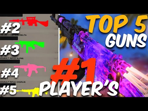 #1 Players TOP 5 WEAPONS in HARDCORE!