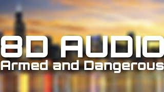 Juice WRLD - Armed and Dangerous (8D AUDIO)