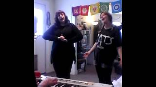 The Clarences rehearse uncut :-)