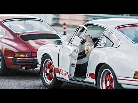 Driving like in the good old days ? Porsche Sport Driving School: Classic Cars