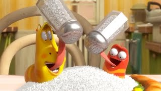 LARVA - COME MENOS SAL   2017 Película Completa   Dibujos animados para niños   WildBrain en Español