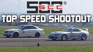 1Km Top Speed Shootout! SCC500 Rolling50 Lahr – 1400HP GT2, Supra, GTR  More!