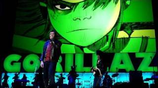 Gorillaz live in Seattle. Rhinestone Eyes, November 2, 2010 at Key Arena