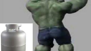 Hulk dançando  olha o gas