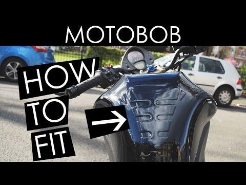 How To Fit A Motorcycle Tank Protector / Tank Pad