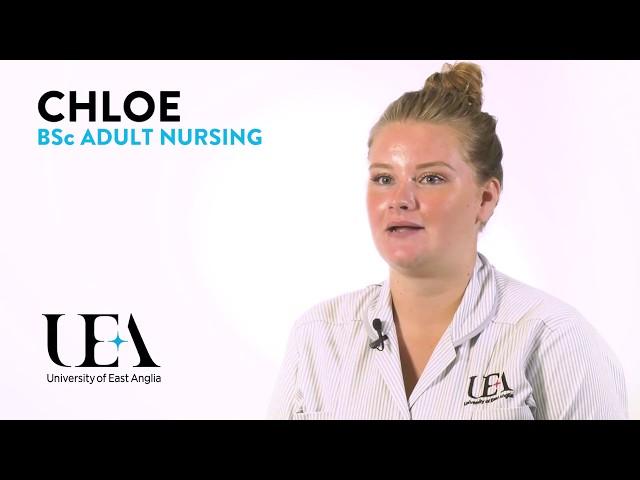 Adult Nursing: Chloe's story - video
