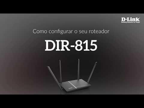 Como configurar o seu roteador DIR-815