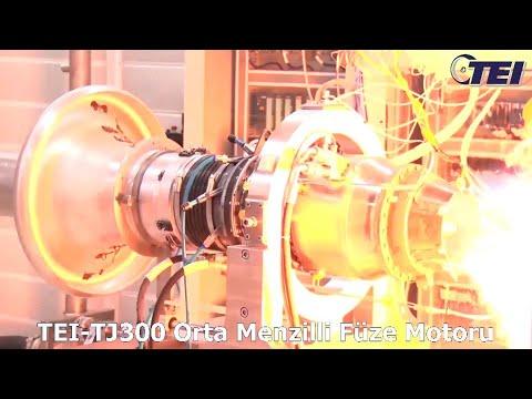 TEI TJ300 Füze Motoru Dünya Rekoru Kırdı