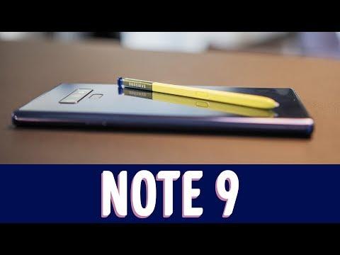 Note 9 - Ensivaikutelmat
