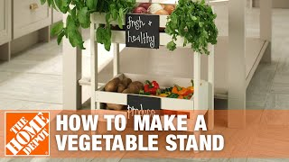 Store Your Produce in Style with a DIY Vegetable Crate