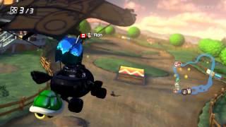 Wii U - Mario Kart 8 - (Wii) Moo Moo Meadows MKTV