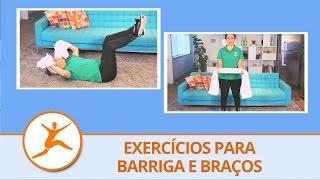 Treino com toalha: 2 exercícios para definir bíceps, tríceps e barriga
