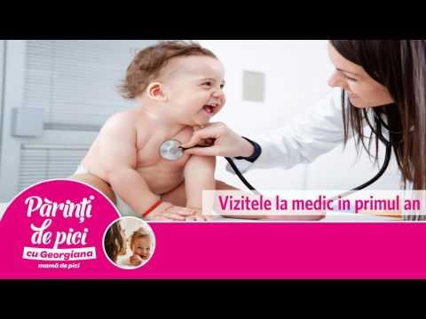 Vizitele la medic in primul an
