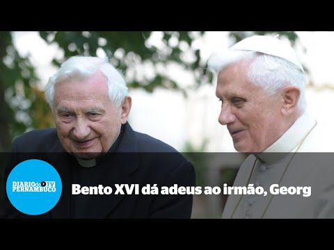 Morre Georg Ratzinger, irmão de Bento XVI