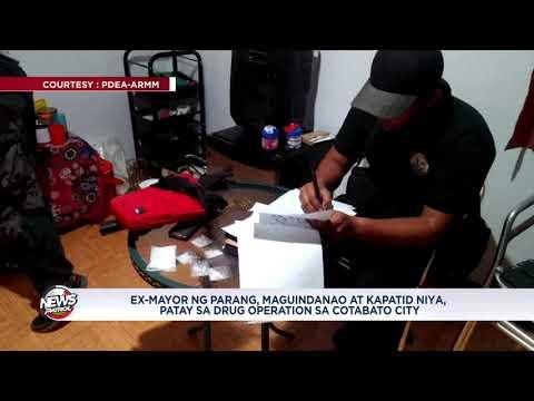 Dating alkalde ng Parang, Maguindanao, patay sa PDEA ops