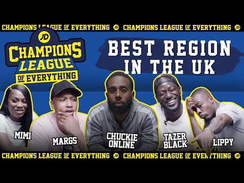 jdsports.co.uk & JD Sports Discount Code video: WHAT IS THE BEST REGION FOR RAP MUSIC IN THE UK???   CHAMPIONS LEAGUE OF EVERYTHING
