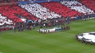 Benfica vs Bayern Munique - O hino do Sport Lisboa e Benfica...