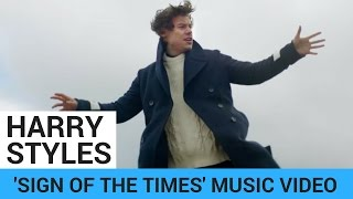 Harry Styles FLIES + FLOATS In 'Sign Of The Times' Music Video!