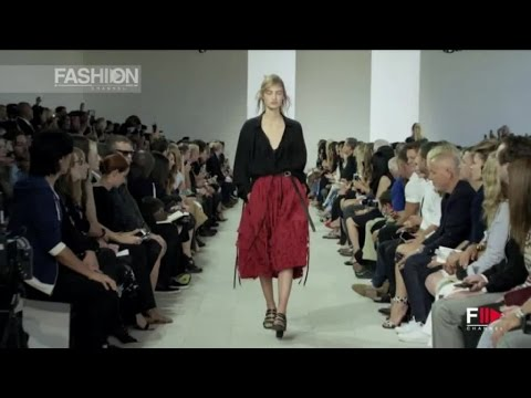 Смотреть онлайн о моде: MICHAEL KORS Spring Summer 2016 Full Show New York by Fashion Channel
