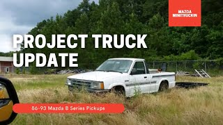Mazda B2200 Project Truck a year later