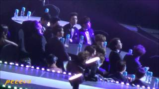 150128 The 4th Gaon Chart K-POP Awards - EXO&SJ - During EXID