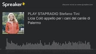Licia Colò appello per i cani del canile di Palermo