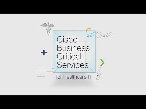 Cisco Business Critical Services for Healthcare