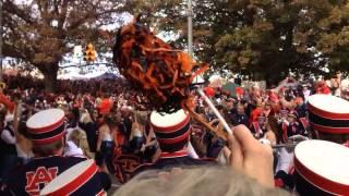 Alabama vs. Auburn 2013 Tiger Walk