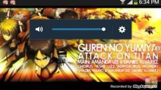 Attack on titan rap/theme song remix