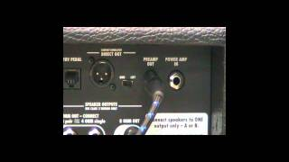 Connecting the POD HD500 to an Amplifier Using the 4 Cable Method