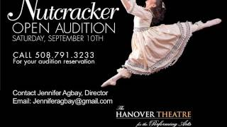 "The Hanover Theatre This Week - 9/8/16 ""A Christmas Carol & The Nutcracker Auditions """