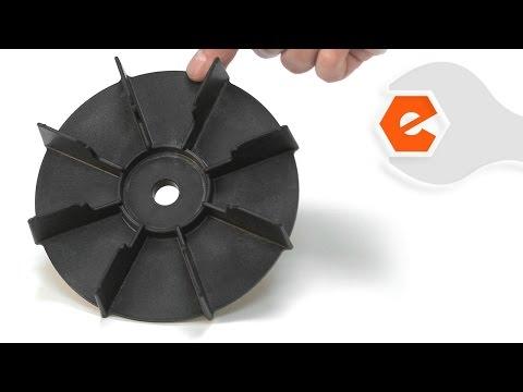Electric Mower Repair - Replacing the Fan (Black & Decker Part # 241125-00)