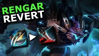 Rengar Revert! Alter Q Spell und neue AP Skalierungen! | League Upcoming