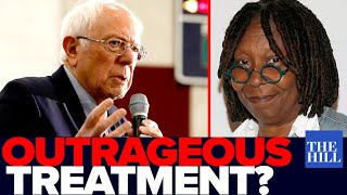 Krystal and Saagar: Whoopi Goldberg's outrageous treatment of Bernie on The View