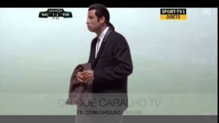 Vincent / John Travolta no Nacional vs FCPorto