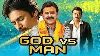 God Vs Man 2019 Telugu Hindi Dubbed Full Movie | Pawan Kalyan, Venkatesh, Shriya Saran, Mithun