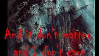 Rehab It don't matter (with lyrics)