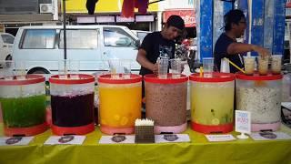 Malaysia Street Food | Air Balang Aquarium - Pasar Malam