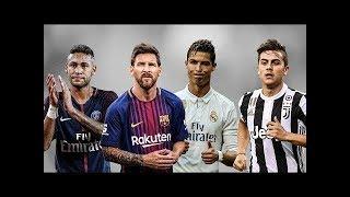 Football best skills and goal[C.Ronaldo,Messi,Neymar and Dybala]