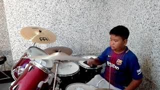 วิชาตัวเบา - Bodyslam Drum Cover [ น้องจีเนียส ]