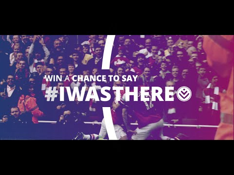 Win a trip to watch an Arsenal match LIVE! #IWasThere