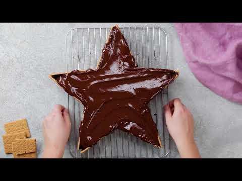 Easy Star Cake Recipe For Your Next Birthday Cake