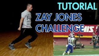 "How to do ""The Rise Up"" (Hip Hop Dance Moves Tutorial) Zay Jones Challenge 