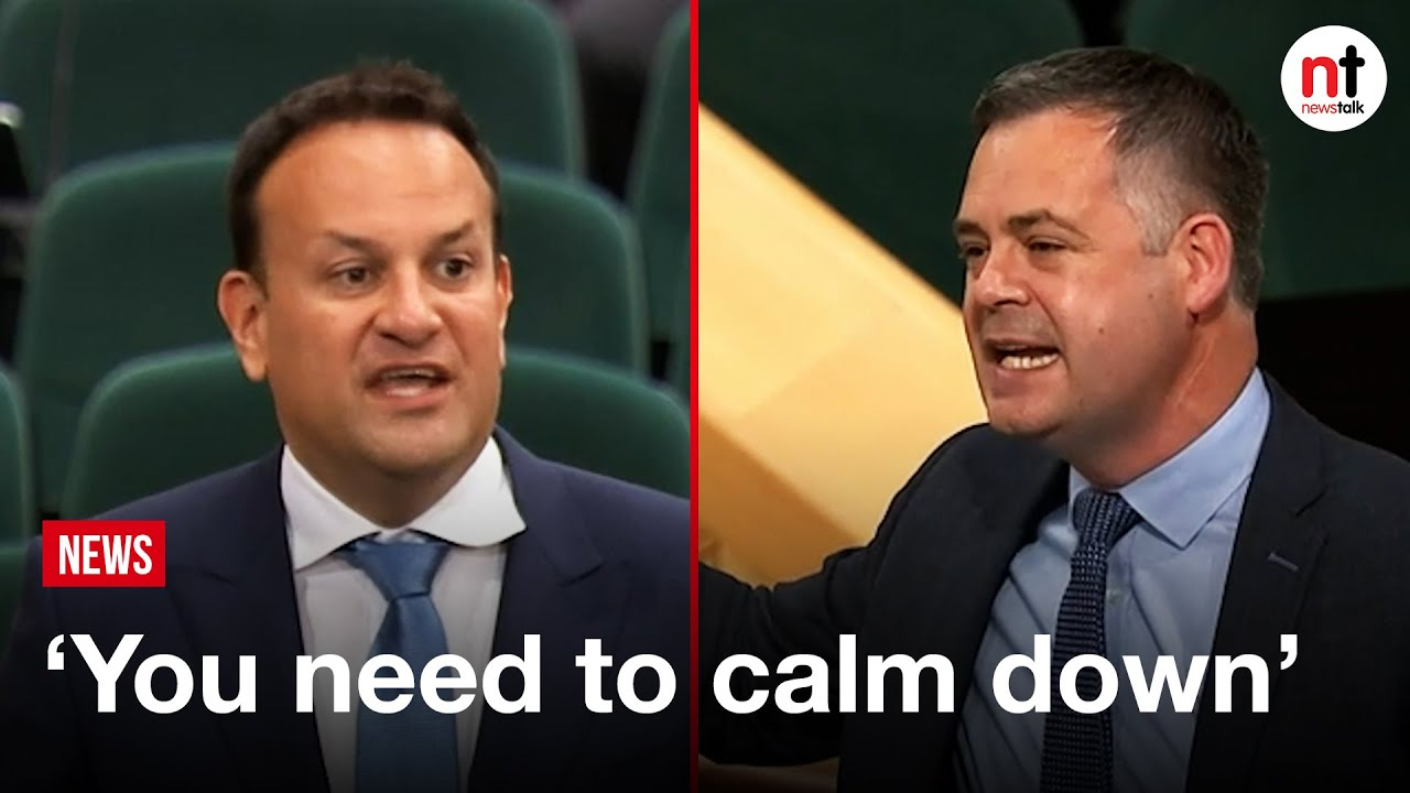 """""""You need to get real,' Pearse Doherty Challenges Leo Varadkar on Housing"""