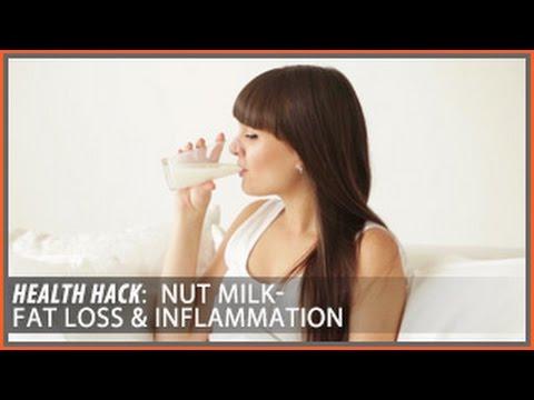 Nut Milk: Top Picks for Fat Loss & Inflammation | Health Hacks- Thomas DeLauer